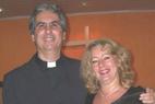 Pr. Antônio José Carvalho Aguiar e sua esposa, Denise Oliveira Aguiar