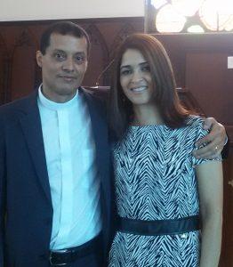 Pr. Carlos Soares dos Santos e sua esposa