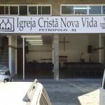 Foto da igreja ICNV Petrópolis